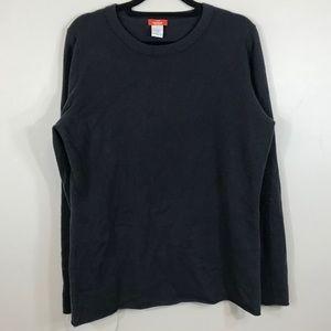 J. Crew celeste 100% cashmere crewneck sweater